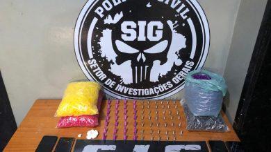 Foto de Polícia derruba ponto de venda de drogas em Aparecida do Taboado