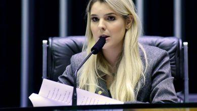 Foto de Deputada é pega com microfone da Globo em reunião do MEC