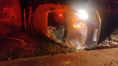 Foto de Jovem bêbado destrói automóvel fugindo da Polícia em MS