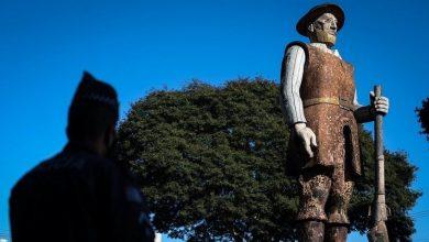 Foto de Empresário vai custear reforma de estátua de Borba Gato após ataque terrorista da extrema-esquerda