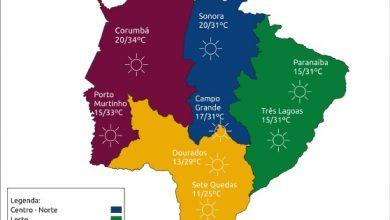 Foto de Final de semana continua com alerta para tempo seco em Mato Grosso do Sul