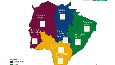 Foto de Temperaturas voltam a subir e ar seco segue predominando nesta quarta-feira